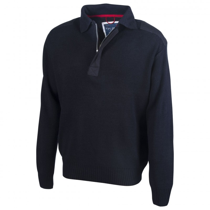 Pull-over col polo Worky - Pull personnalisé