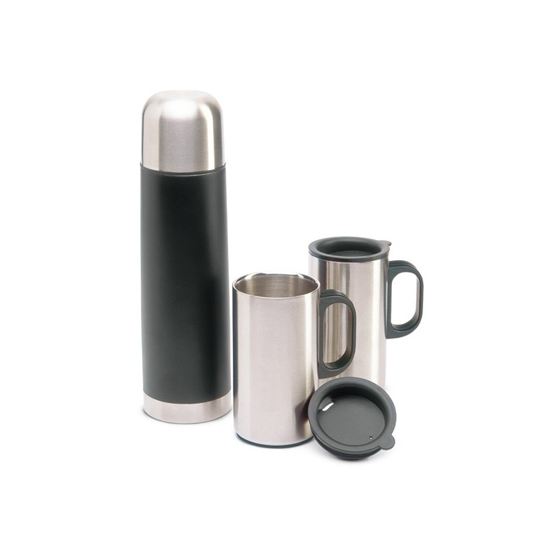 Bouteille Thermos et tasses - Bouteille et mug isotherme publicitaire