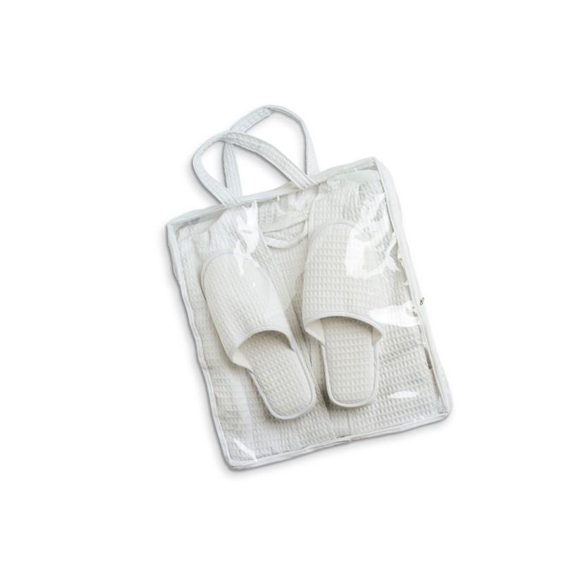 Peignoir et chaussons - Set de bain sur mesure