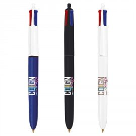 Stylo-bille 4 couleurs Bic