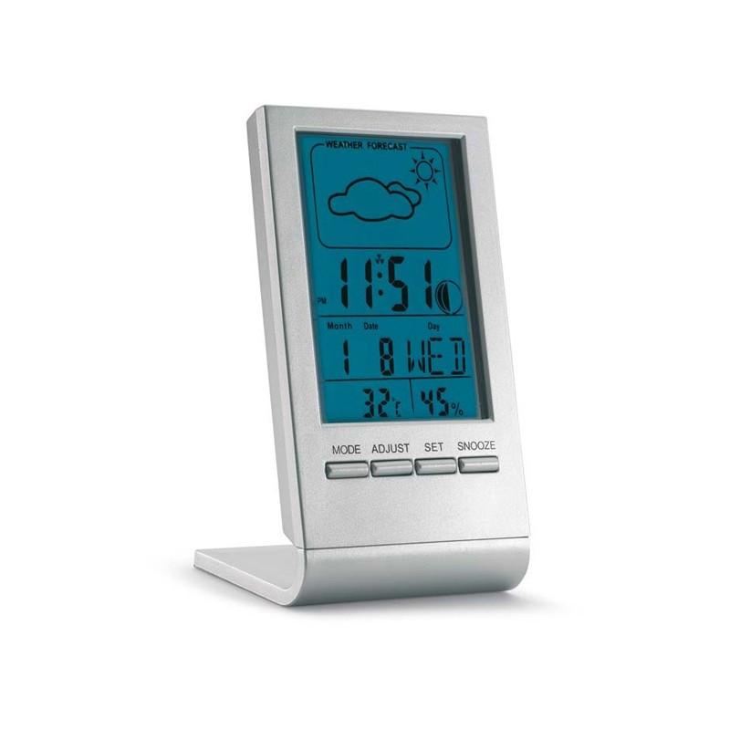 Station météo avec LCD bleu Sky - Station météo personnalisé