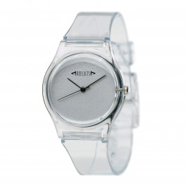 Montre bracelet transparent