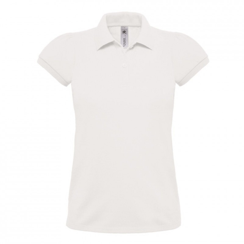 Polo femme Heavymill B&C - Polo manches courtes - marquage logo