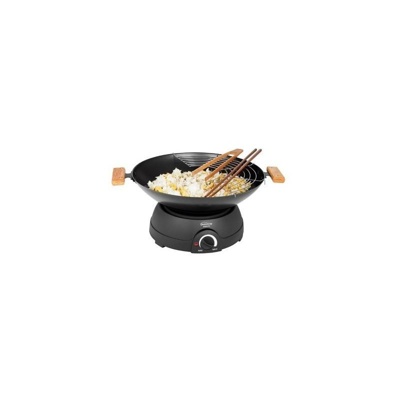 Wok multifonctions 2 en 1 - Appareil à fondue - objets promotionnels