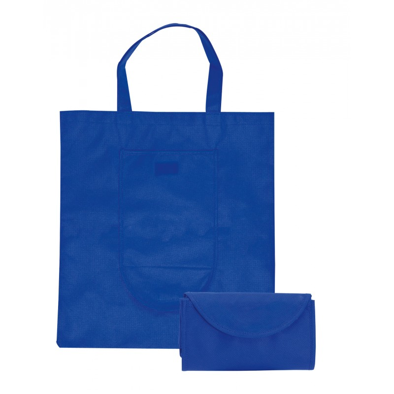 Sac shopping pliable Non-woven - Sac shopping pliant publicitaire