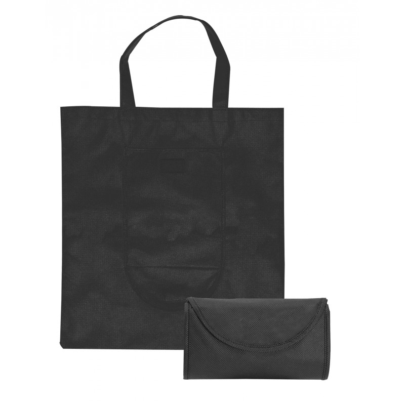 Sac shopping pliable Non-woven - Sac shopping pliant sur mesure
