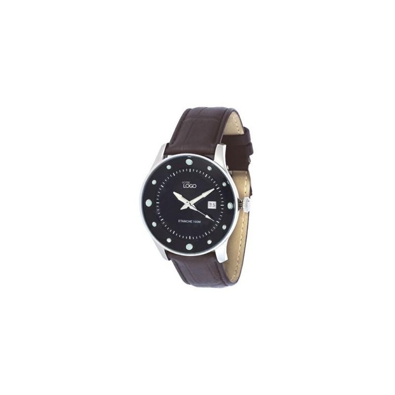 montre analogique pour homme vente de montres cadeaux publicitaires. Black Bedroom Furniture Sets. Home Design Ideas