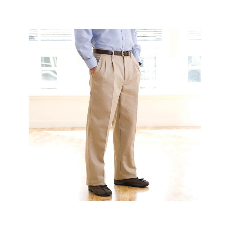 Pantalon Chino à pinces - Pantalon classique sur mesure
