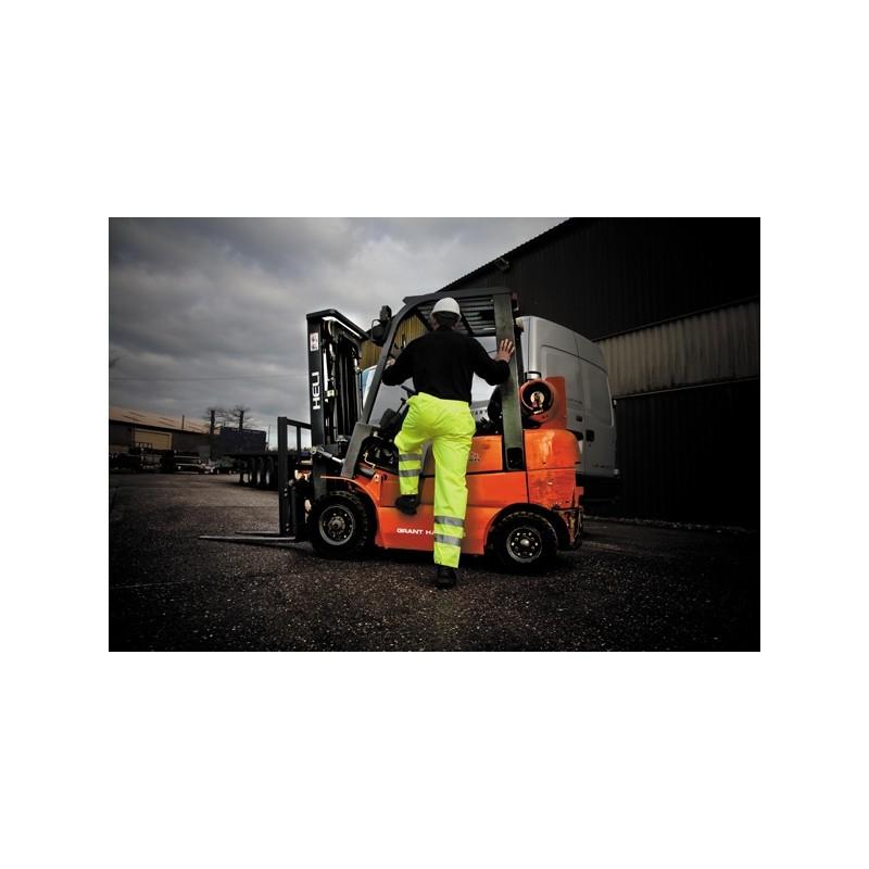 Pantalon pluie haute visibilité - Vêtement de travail publicitaire