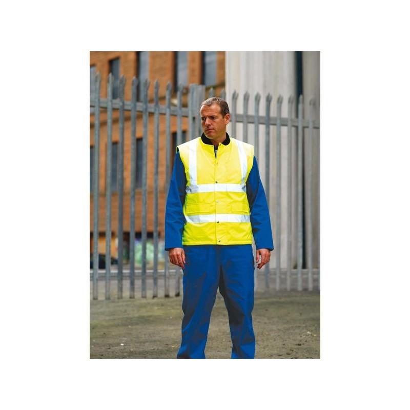 Bodywarmer High visibility RTY - Bodywarmer personnalisé
