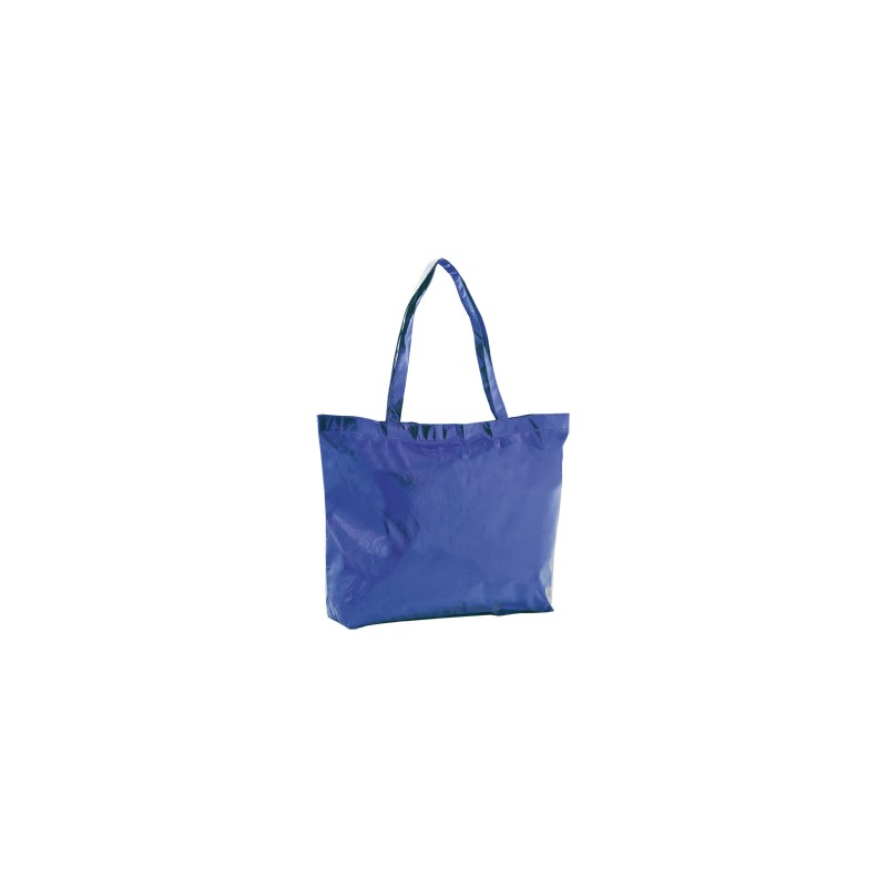 Sac shopping non-woven satin et brillant - Sac shopping tendance publicitaire