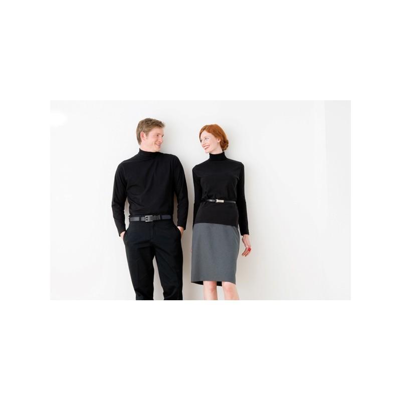 Tee shirt femme avec col roulé Henbury - T-shirt manches longues publicitaire