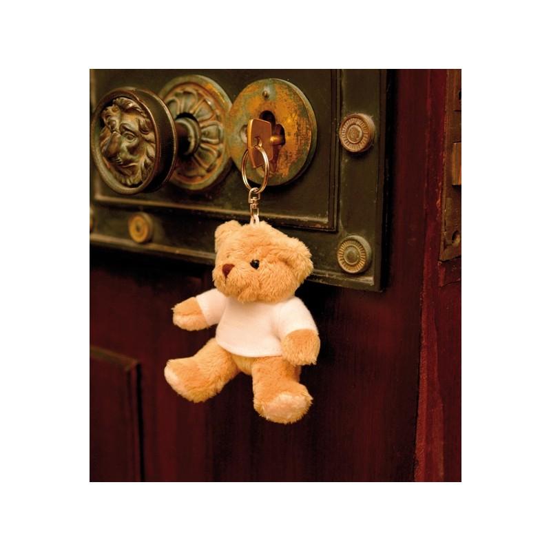 Porte-clé ours en peluche Mumbles - Peluches personnalisé