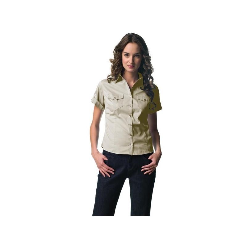 Chemisette publicitaire pour femme  - chemise publicitaire femme - objets publicitaires