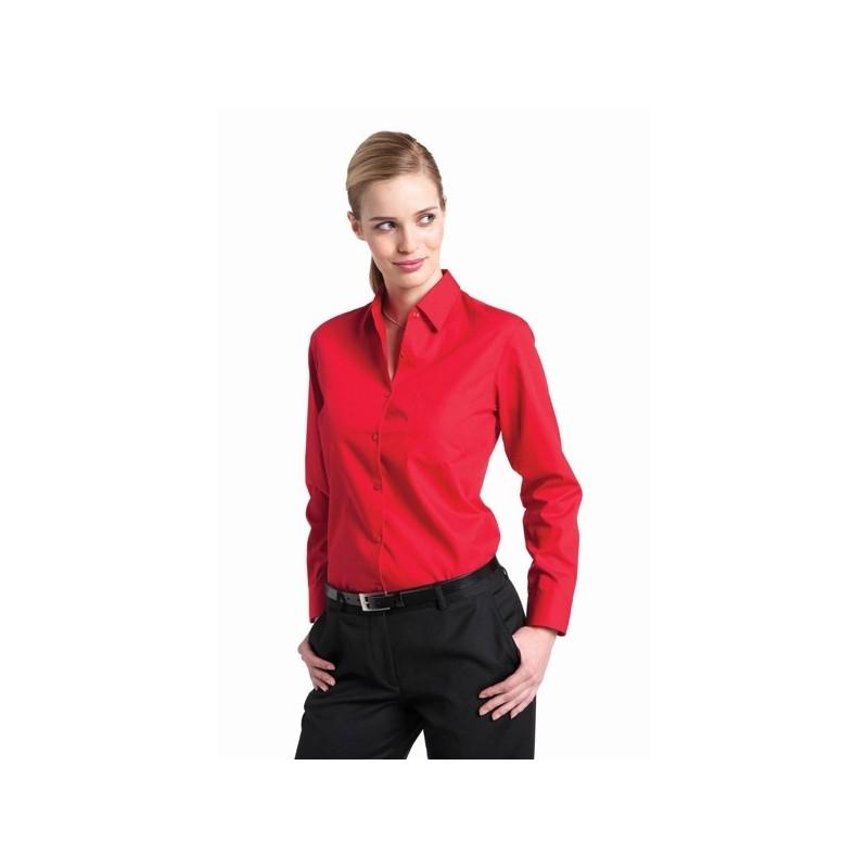 Chemise femme Popeline 100% coton - chemise publicitaire femme - objets publicitaires