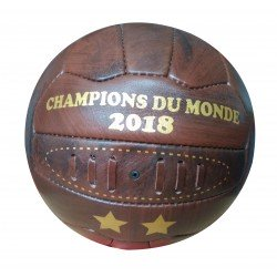 Ballon de football cuir véritable
