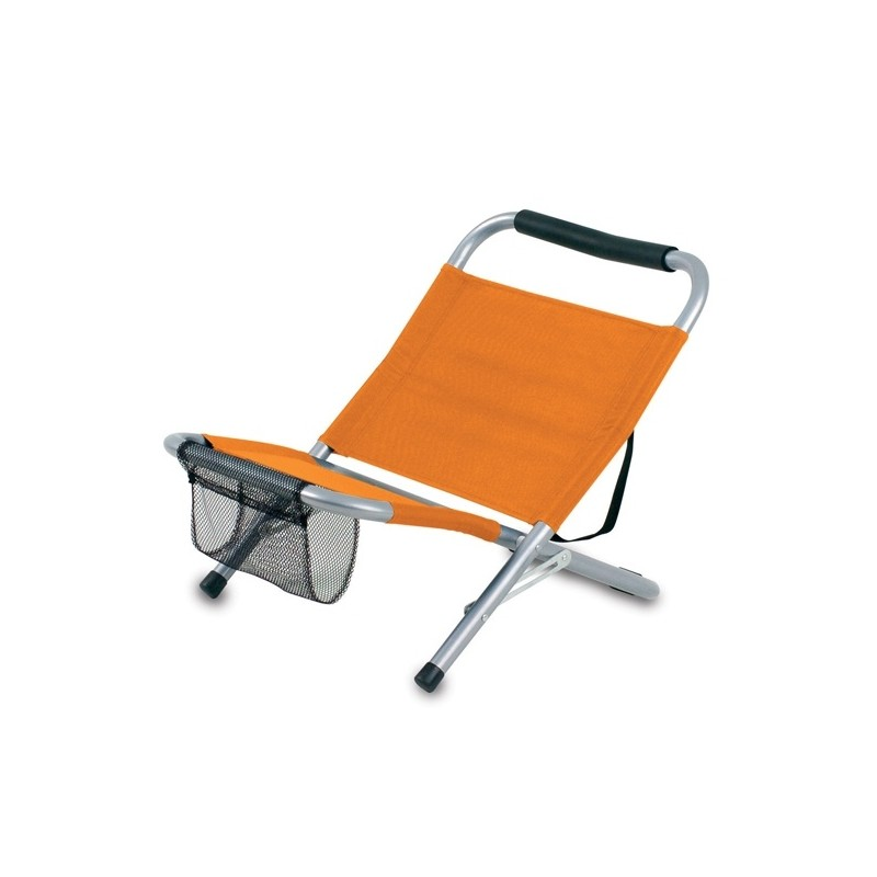 Siège de plage pliable Mediterraneo - Chaise de plage - objets publicitaires