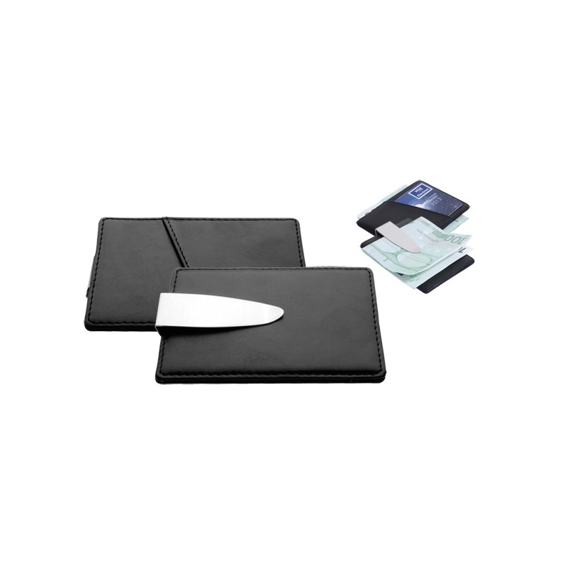 Pince à billets/Etui carte de crédit - 10-206
