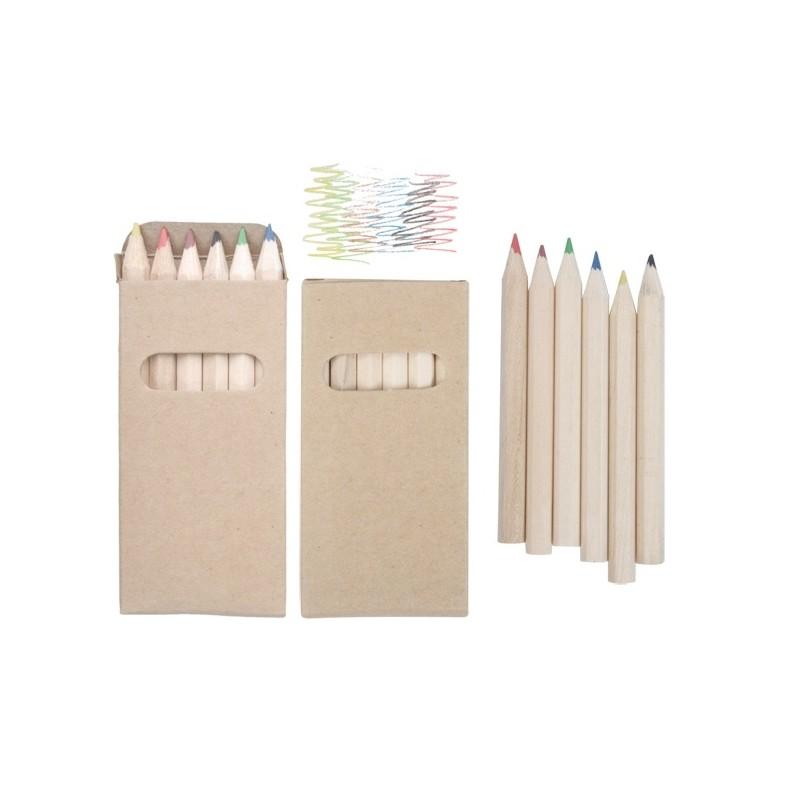 Set de 6 crayons de couleurs - 10-364