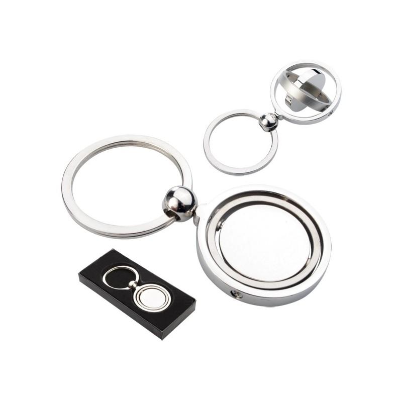 10-300 Porte-clés pivotant en métal personnalisé