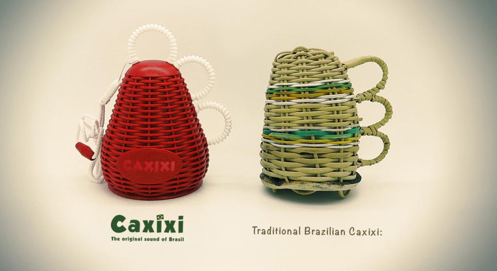 Caxixi personnalisé pour le Brésil