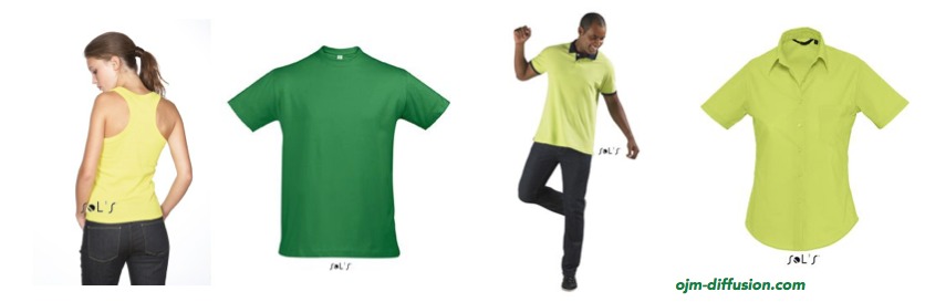 T-shirts, polos et débardeurs personnalisés