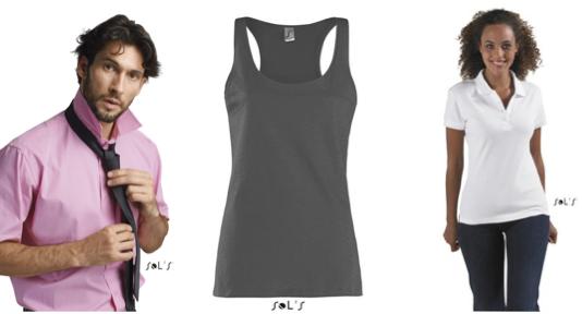 Débardeur, chemise et polo personnalisés