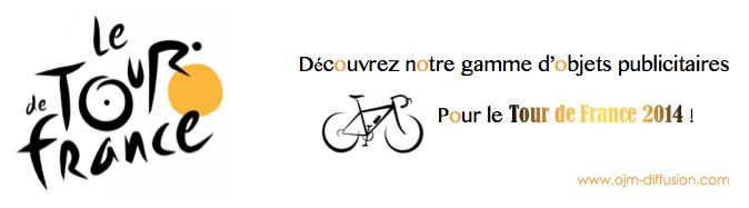 Tour de France et objet publicitaire