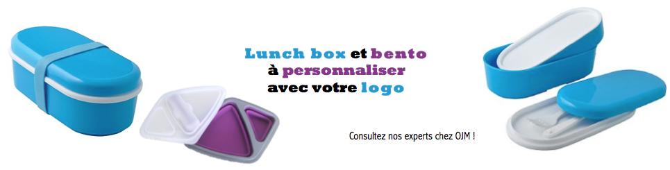 Bento et lunch box publicitaire