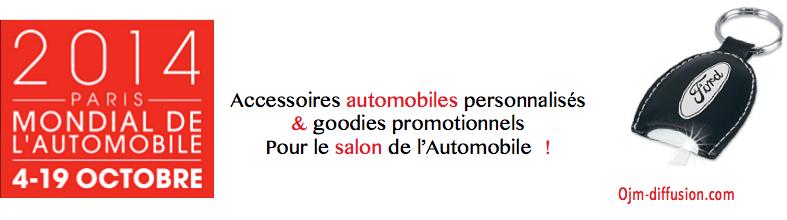 Accessoires auto et goodies personnalisés