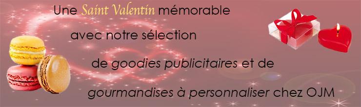 Articles publicitaires St Valentin