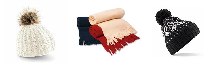 Bonnets et écharpes personnalisables