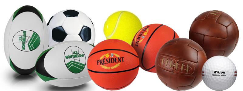 Ballons et balles publicitaires