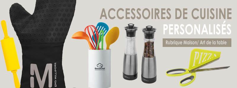 Accessoires de cuisine publicitaires