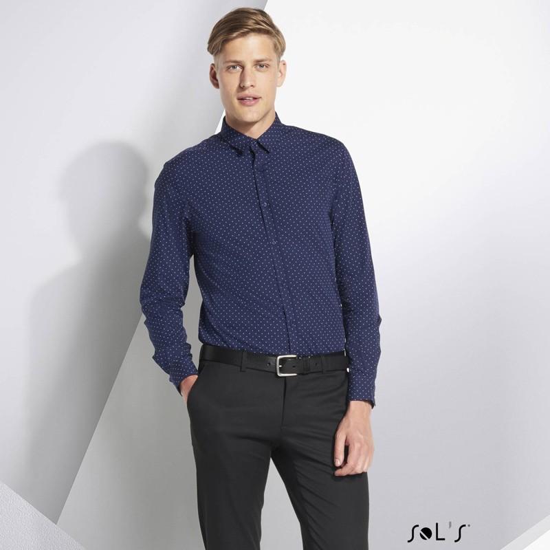 chemise homme a pois becker men