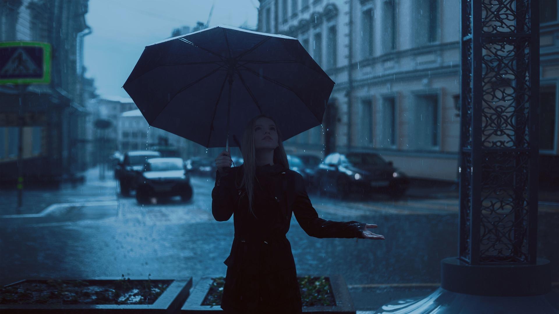 Parapluie demi golf