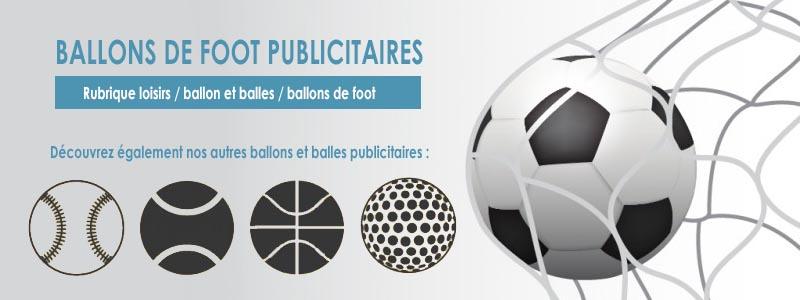 Un ballon de foot personnalisé à votre image pour vos évènements