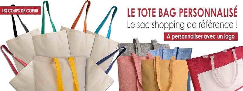 Le tote bag personnalisé : un sac shopping à emporter partout