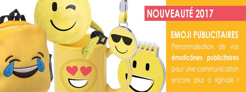 Les Emoji publicitaires sont arrivés