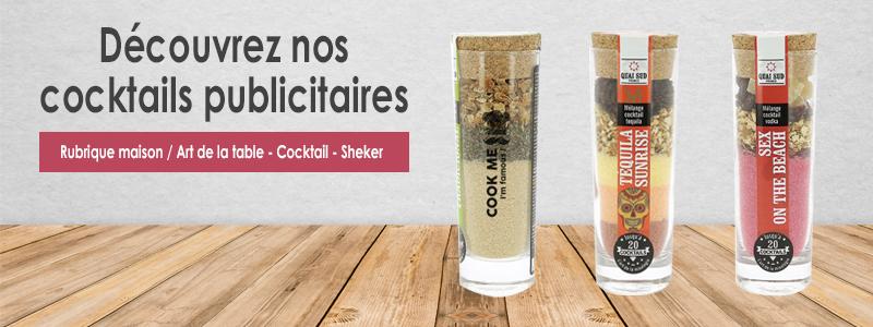 Des cocktails publicitaires, une communication plus qu'originale