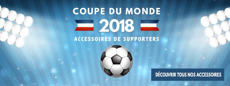 Coupe du monde 2018 : tous nos accessoires de supporters publicitaires