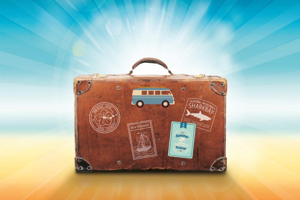 Goodies et objets pub pour les départs en vacances
