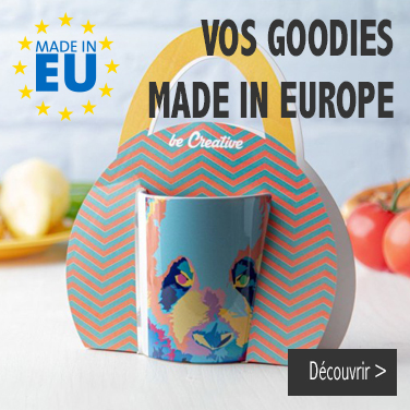 Objet publicitaire Made in Europe