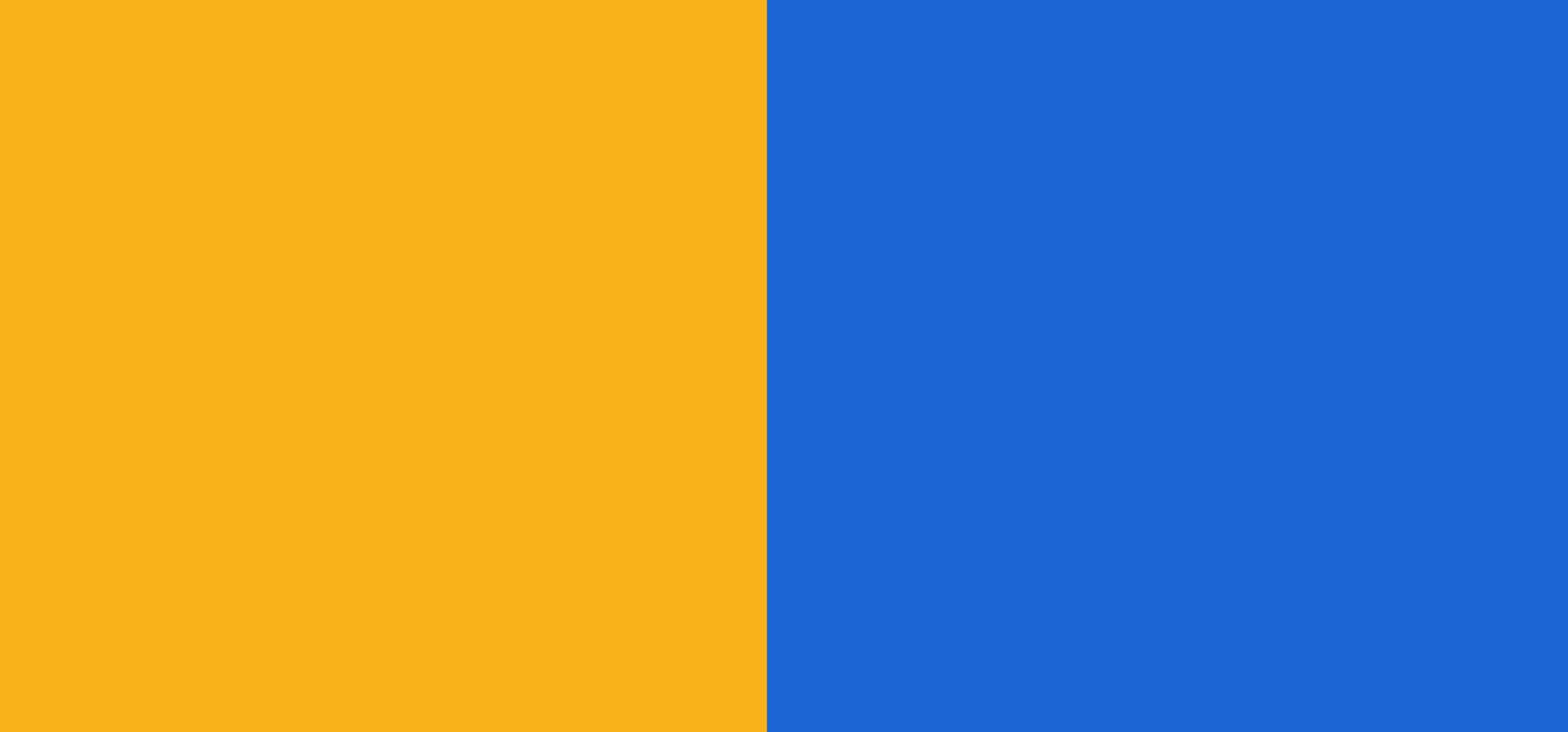bleu / orange