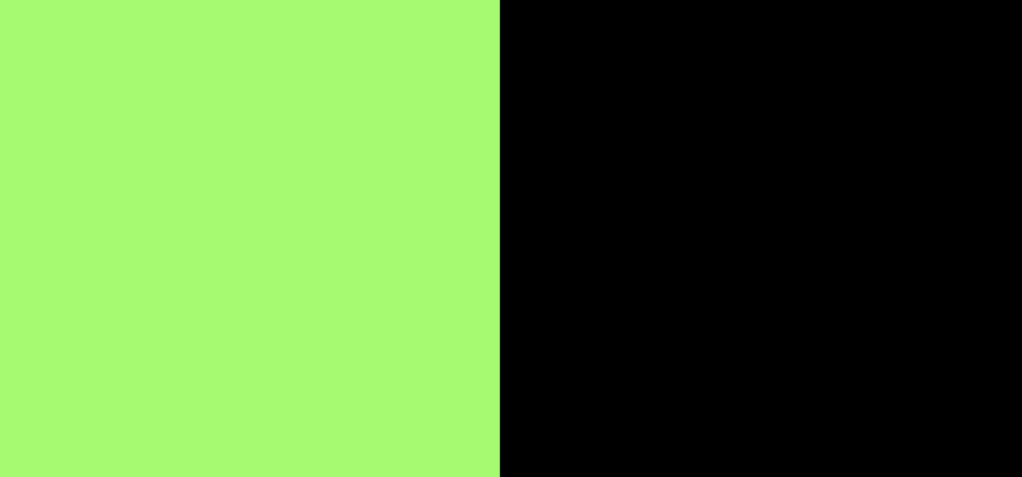 Noir / vert