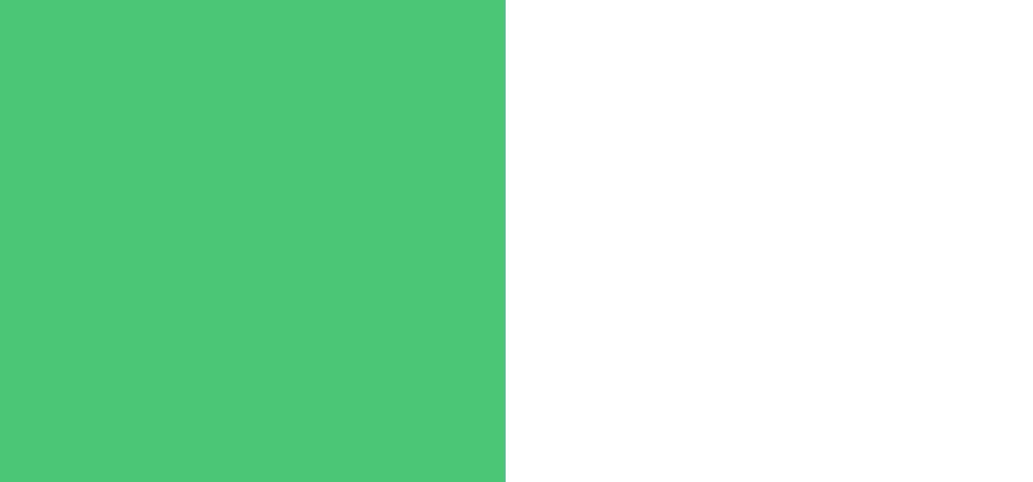 Vert / blanc