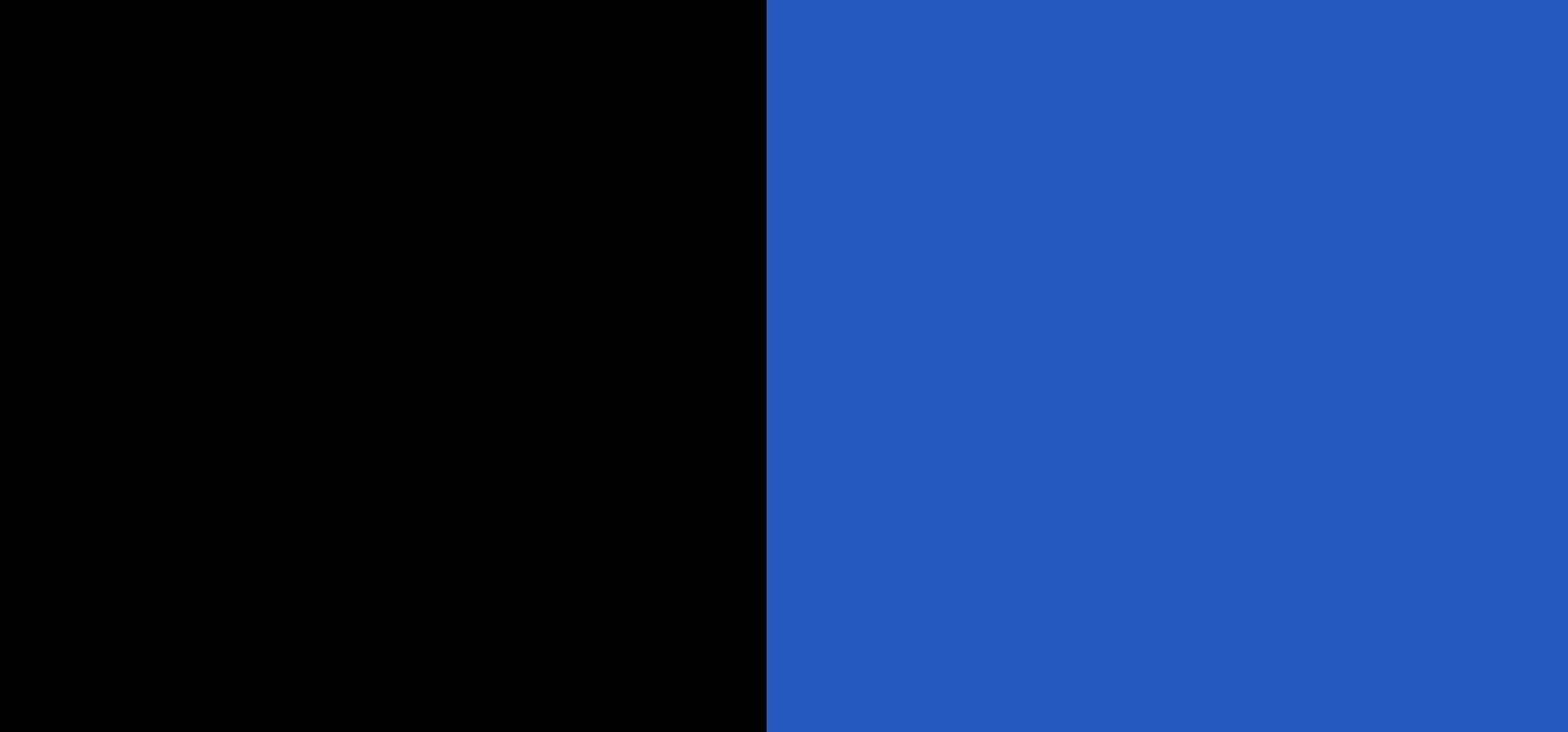 noir / bleu