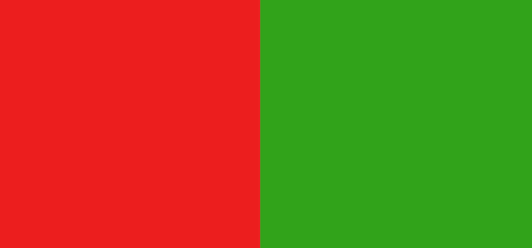 Rouge / vert