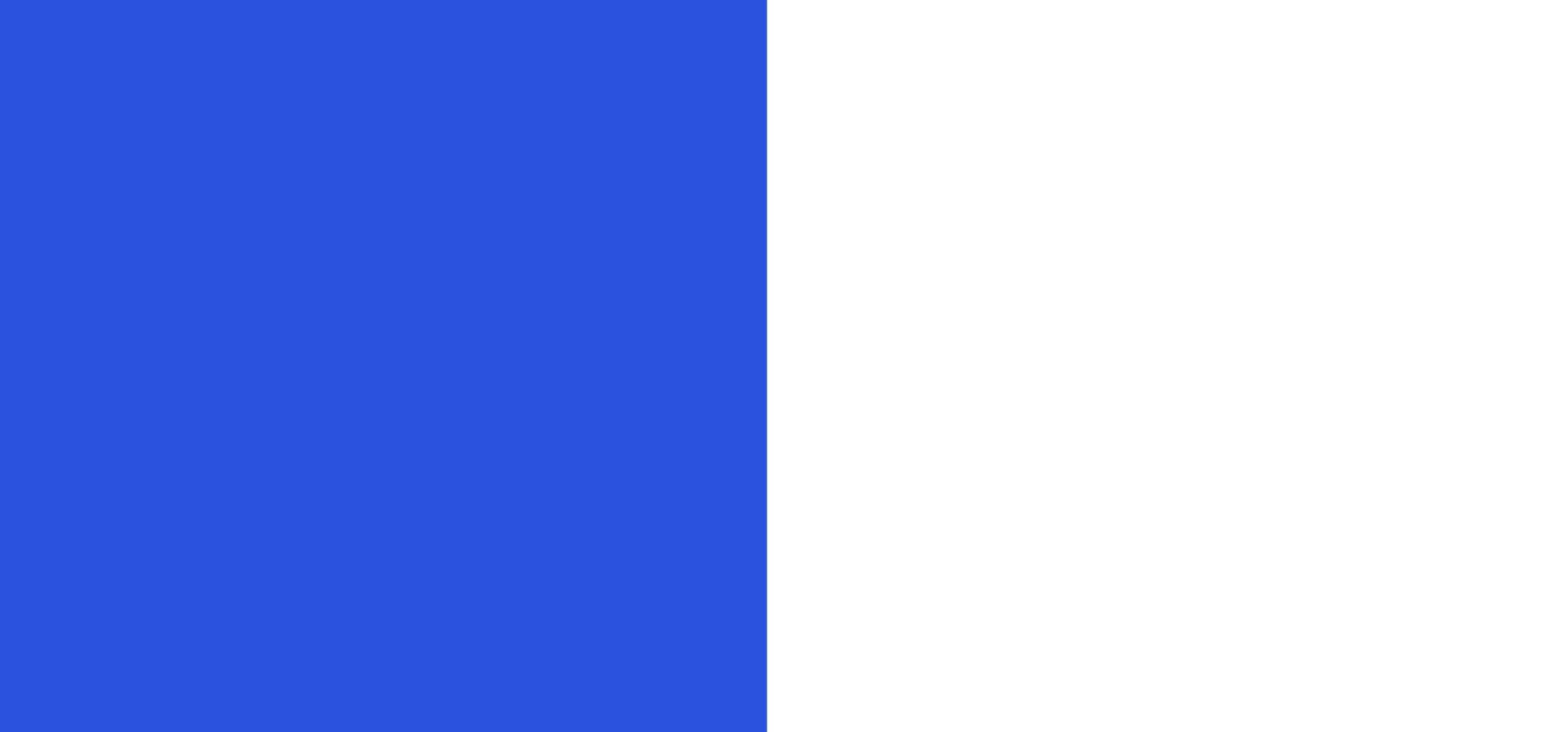 Bleu Roi/Blanc