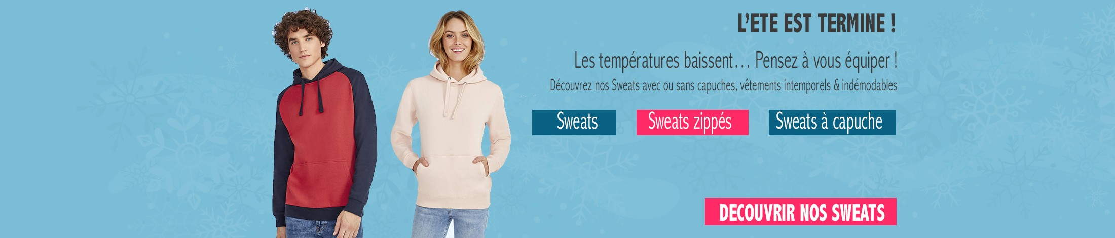 Sweat publicitaire